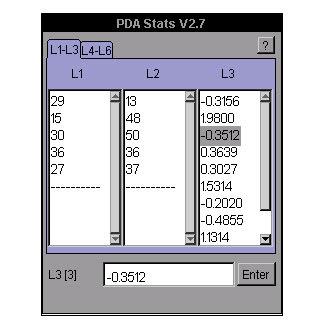 PDA Stats