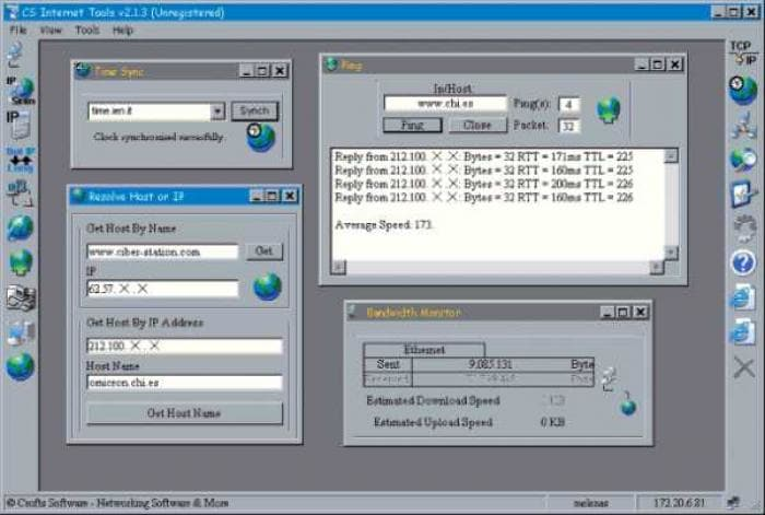 CS Internet Tools