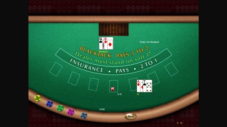 Blackjack HD Pro for Windows 10