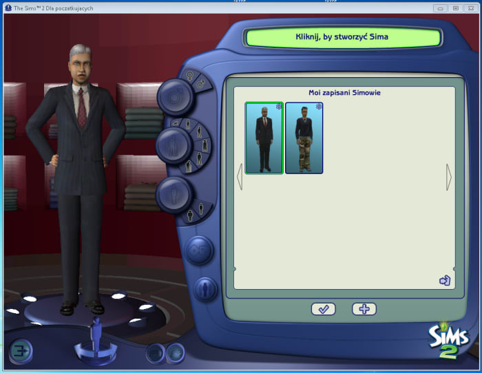 how to create a sim