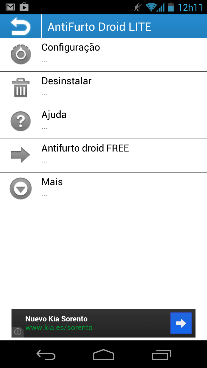 Anti Furto Droid Web