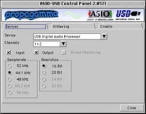 USB Asio Driver