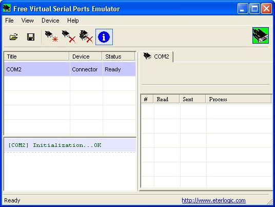 Free Virtual Serial Ports Emulator
