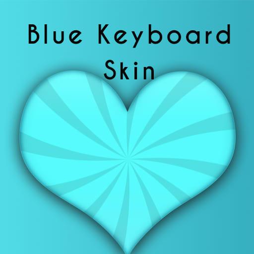 Blue Skin Keyboard