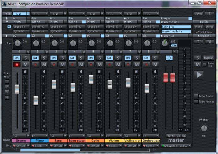 Samplitude Producer
