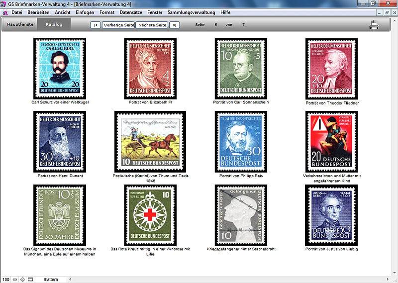 GS Briefmarken-Verwaltung