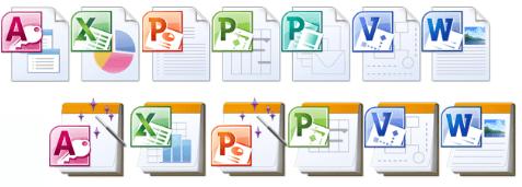 Microsoft Office 2010 IconPack