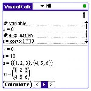VisualCalc
