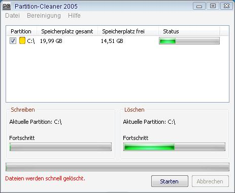 Partition Cleaner