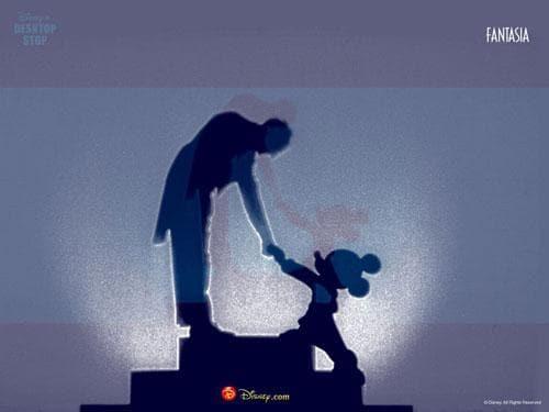 Wallpaper Disney's Fantasia
