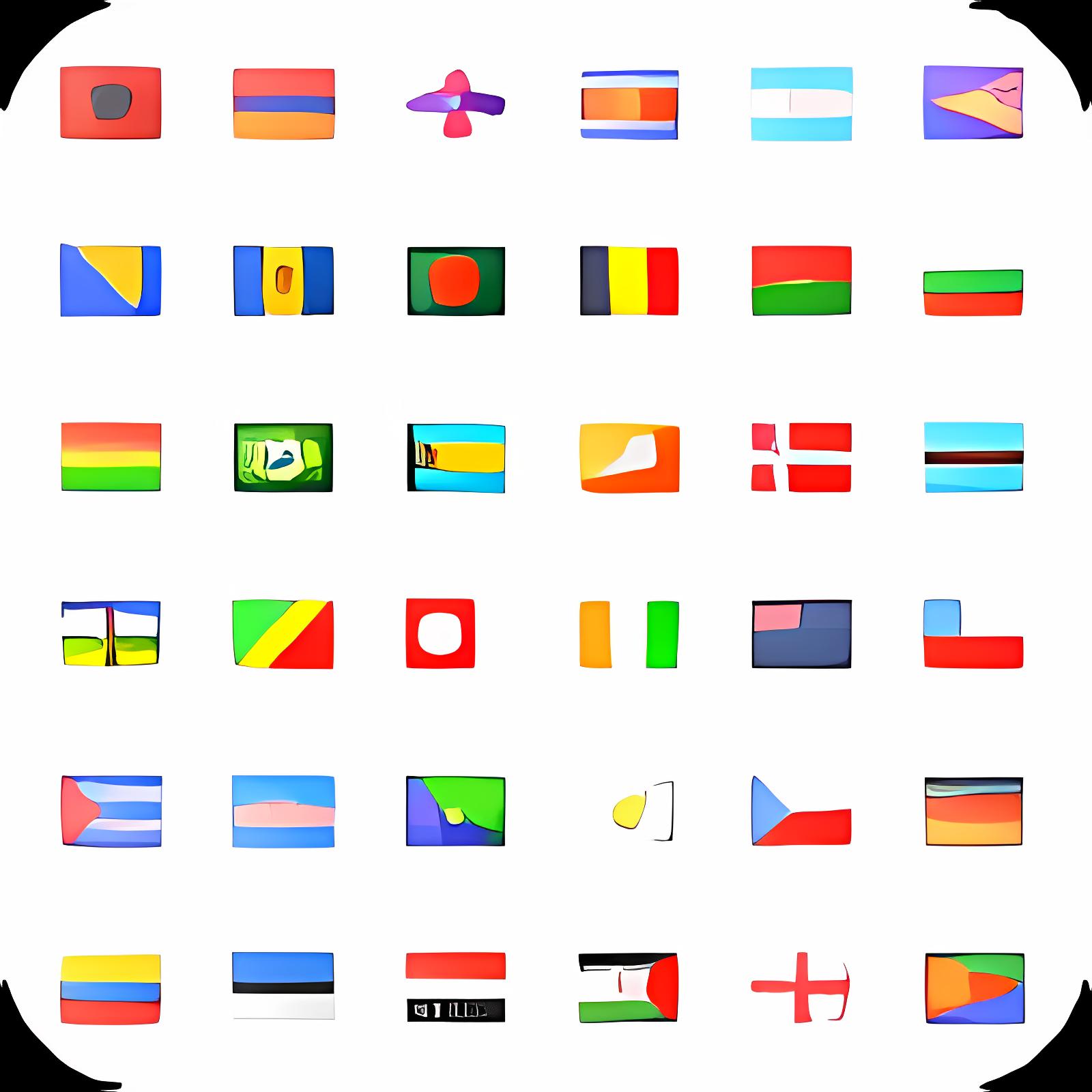 Free Flag Icon Set for PowerPoint