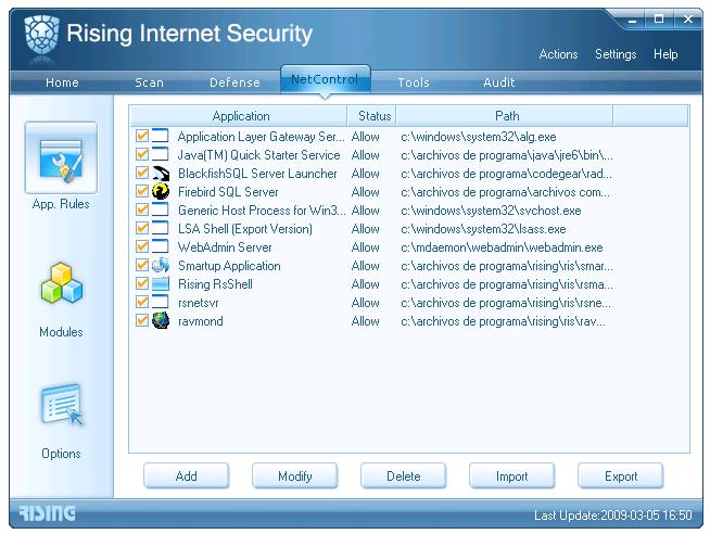 Rising Internet Security