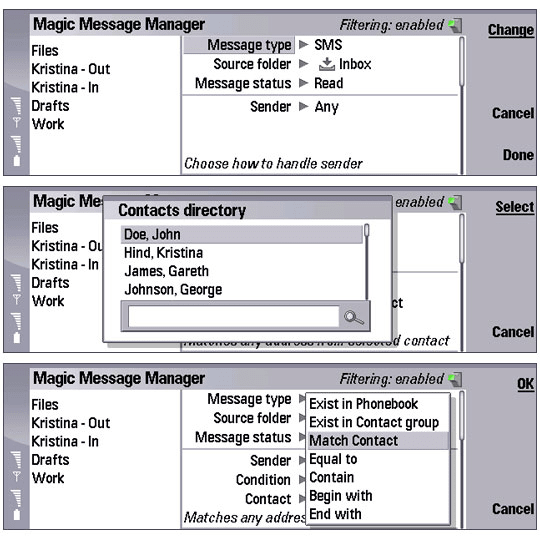Magic Message Manager