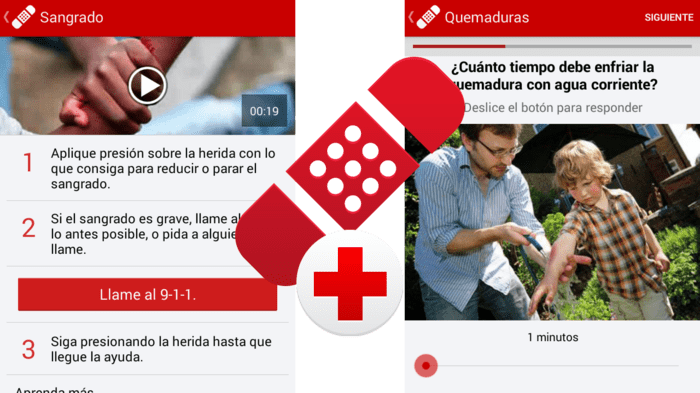 Primeros Auxilios - Cruz Roja