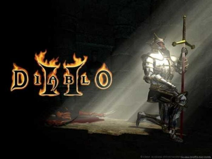 Diablo II Paladin Wallpaper