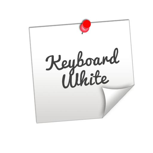 Keyboard Classic White