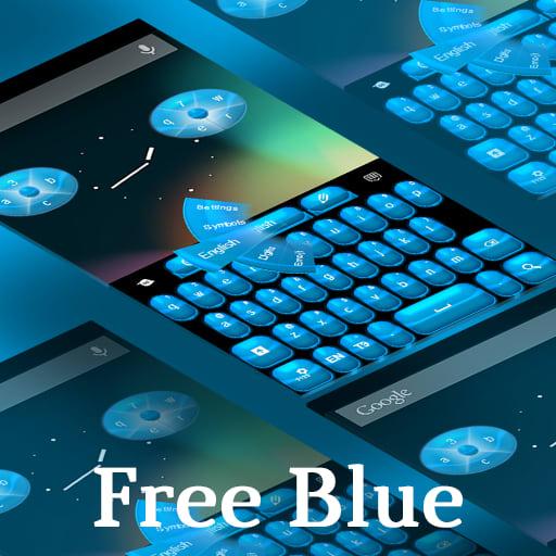 Keyboard Free Blue