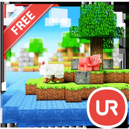 UR 3D Minecube Live Theme