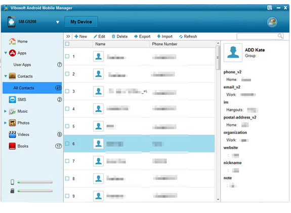 Vibosoft Android Mobile Manager (Windows 8/7/XP)
