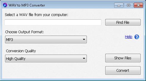 WAV to MP3 Converter