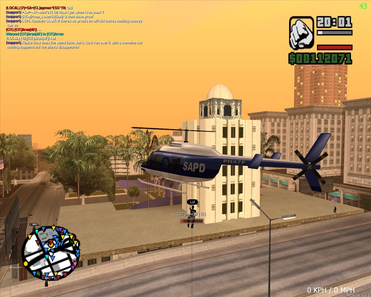 Multi Theft Auto: San Andreas