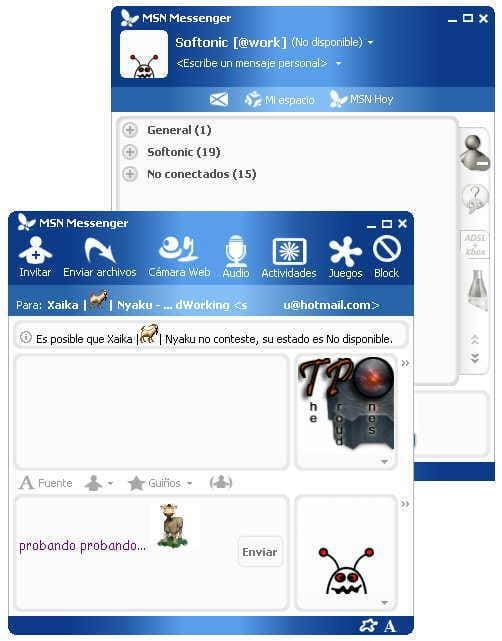 Wave 11 MSN Messenger Skin