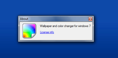 Windows 7 Color Changer