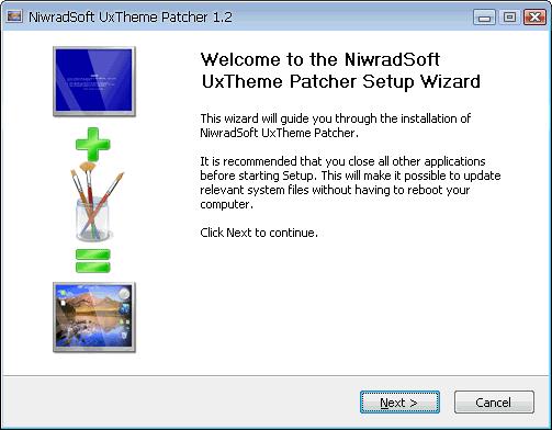 NiwradSoft Uxtheme Patcher