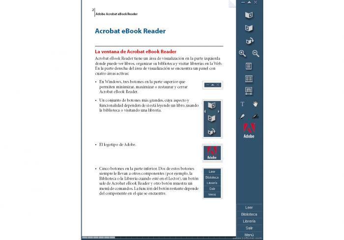 Adobe Acrobat eBook Reader