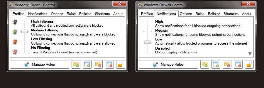 Windows Firewall Control