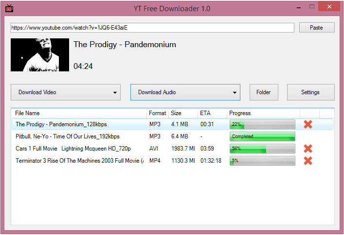 YT Free Downloader