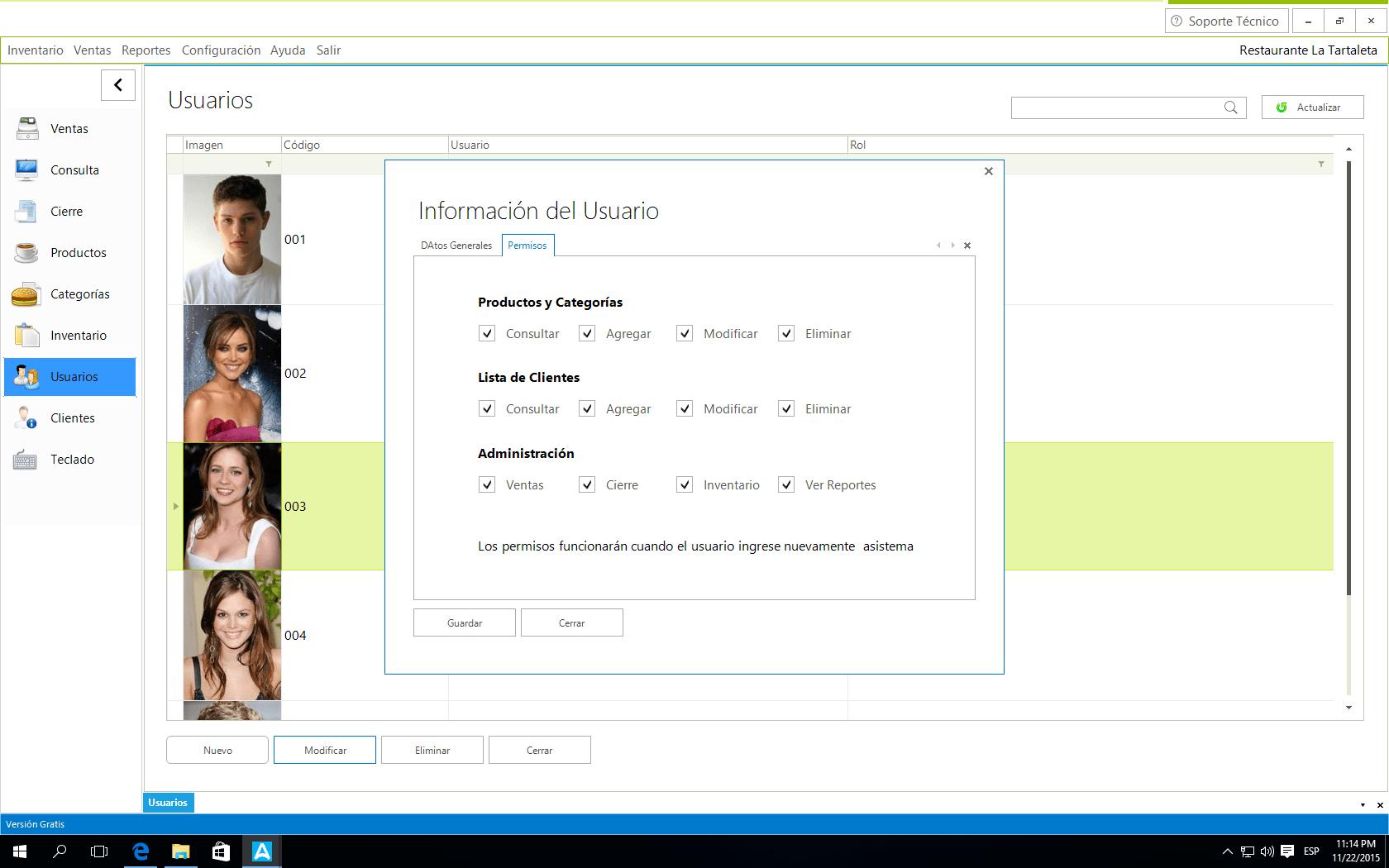 Amadeus Software para Restaurante