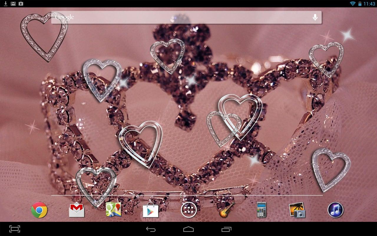 Hearts HD Live Wallpaper