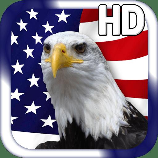 USA Flag Live Wallpaper