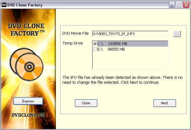 DVD Clone Factory