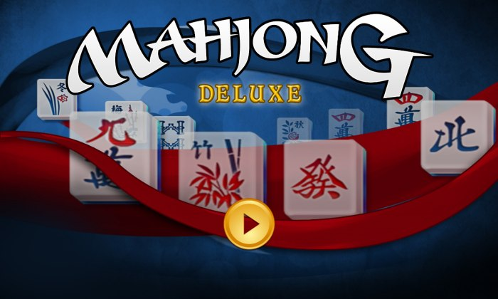 Mahjong Deluxe! pour Windows 10