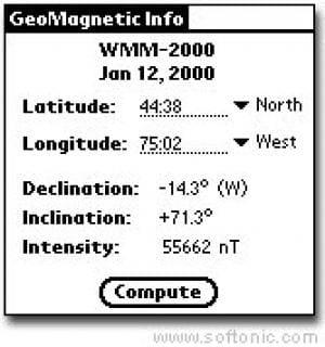 GeoMagnetic Info