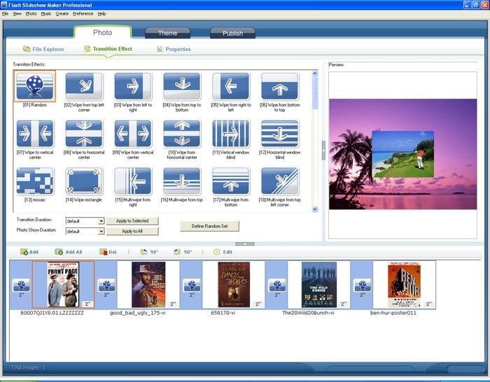 Flash Slide Show Maker Professional