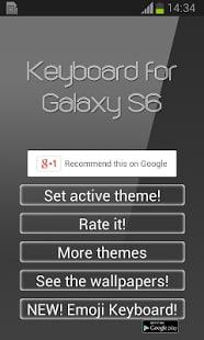Teclado para Galaxy S6