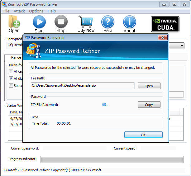 iSumsoft ZIP Password Refixer