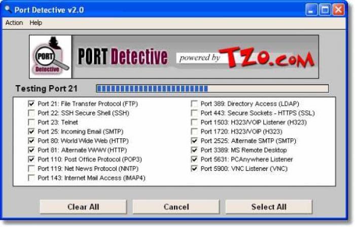 Port Detective