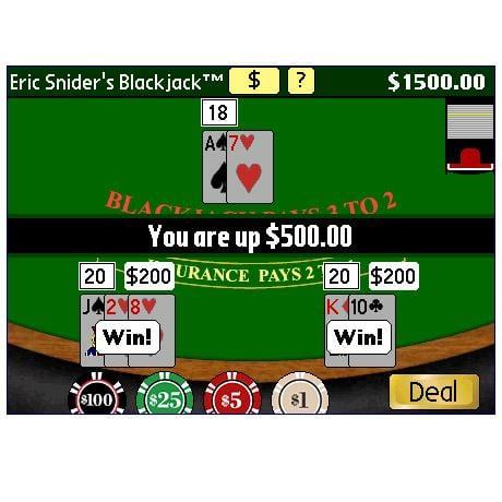 Eric Snider's Blackjack