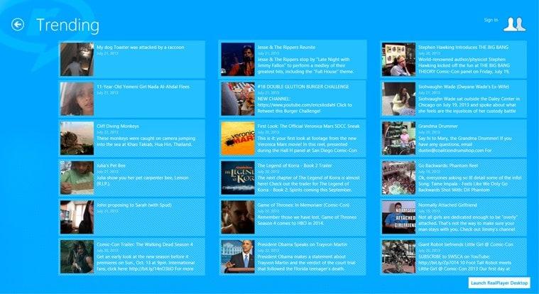 RealPlayer Daily Videos para Windows 10