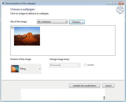 Starter Background Changer