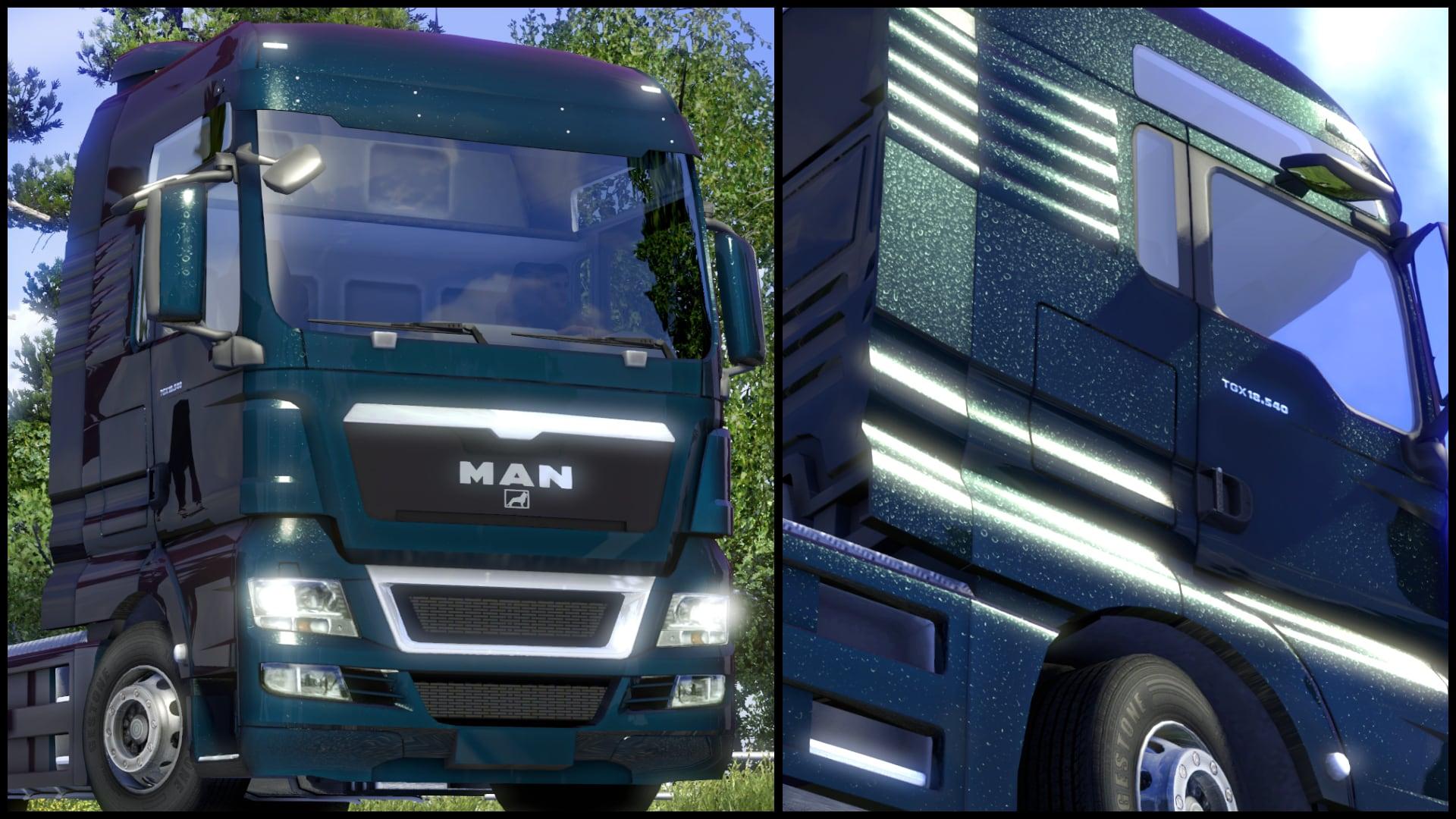 Euro truck simulator 2 metallic paint jobs pack download for Car paint simulator