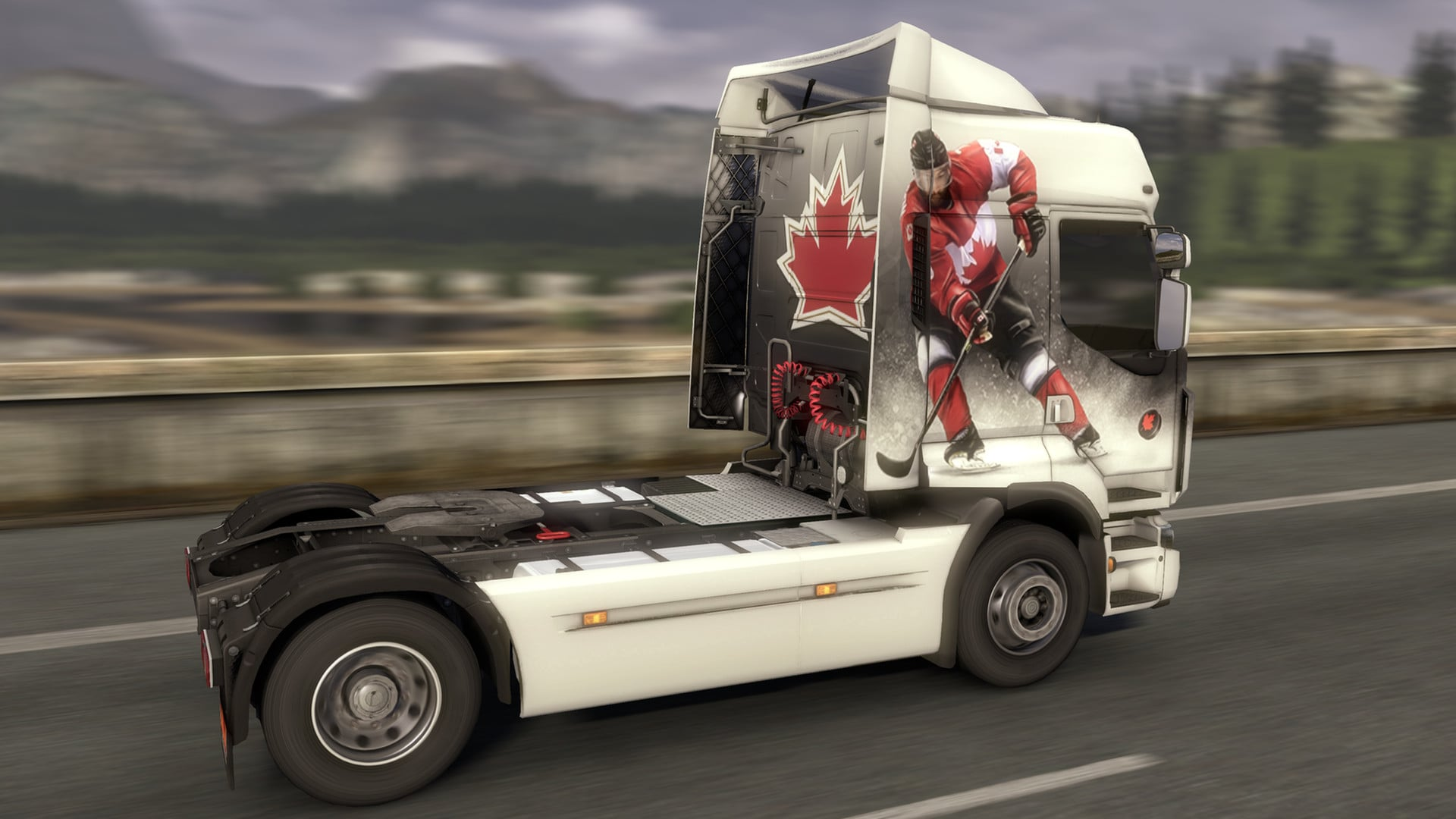 Euro Truck Simulator 2 - Canadian Paint Jobs Pack