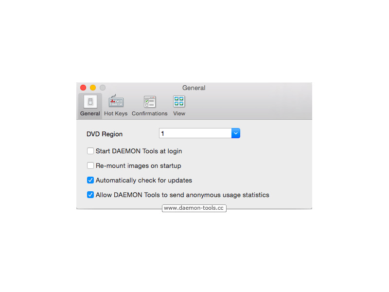 DAEMON Tools voor Mac