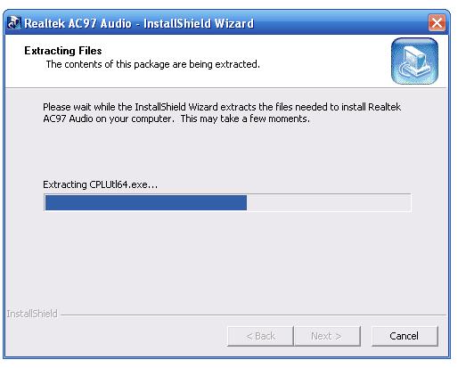 Realtek AC'97 Audio Driver