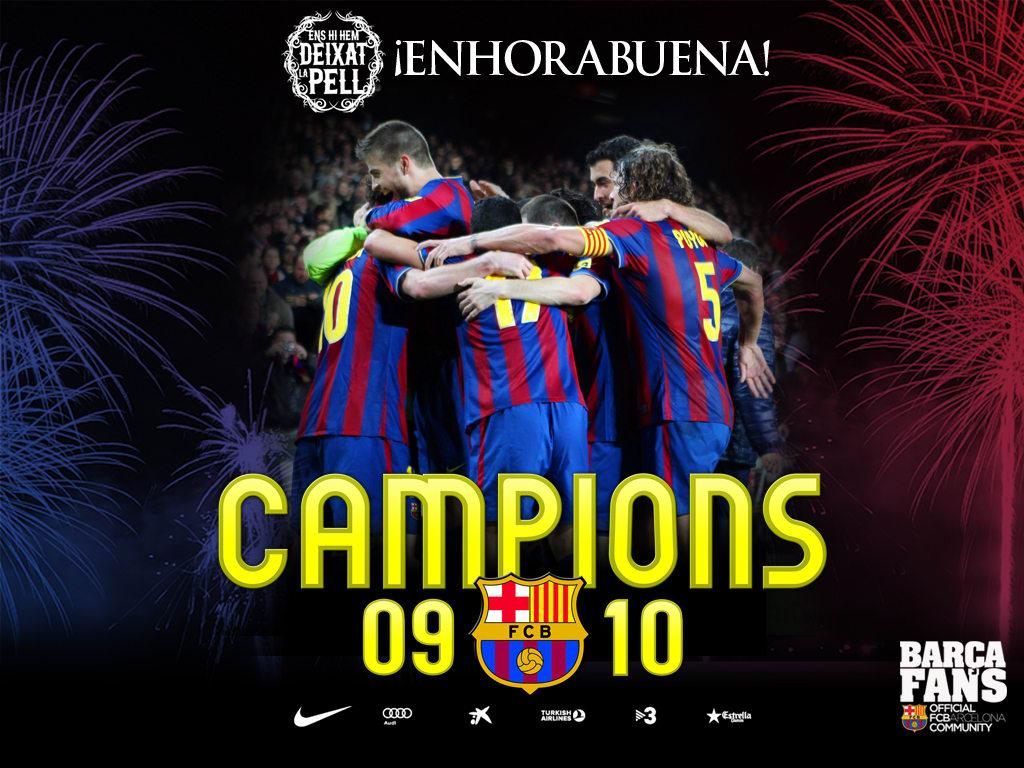 Tapeta Barcelona Mistrz
