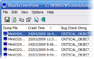 BlueScreenView Portable